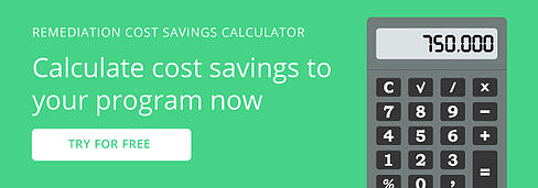 Remediation Cost Saving Calculator Call to Action