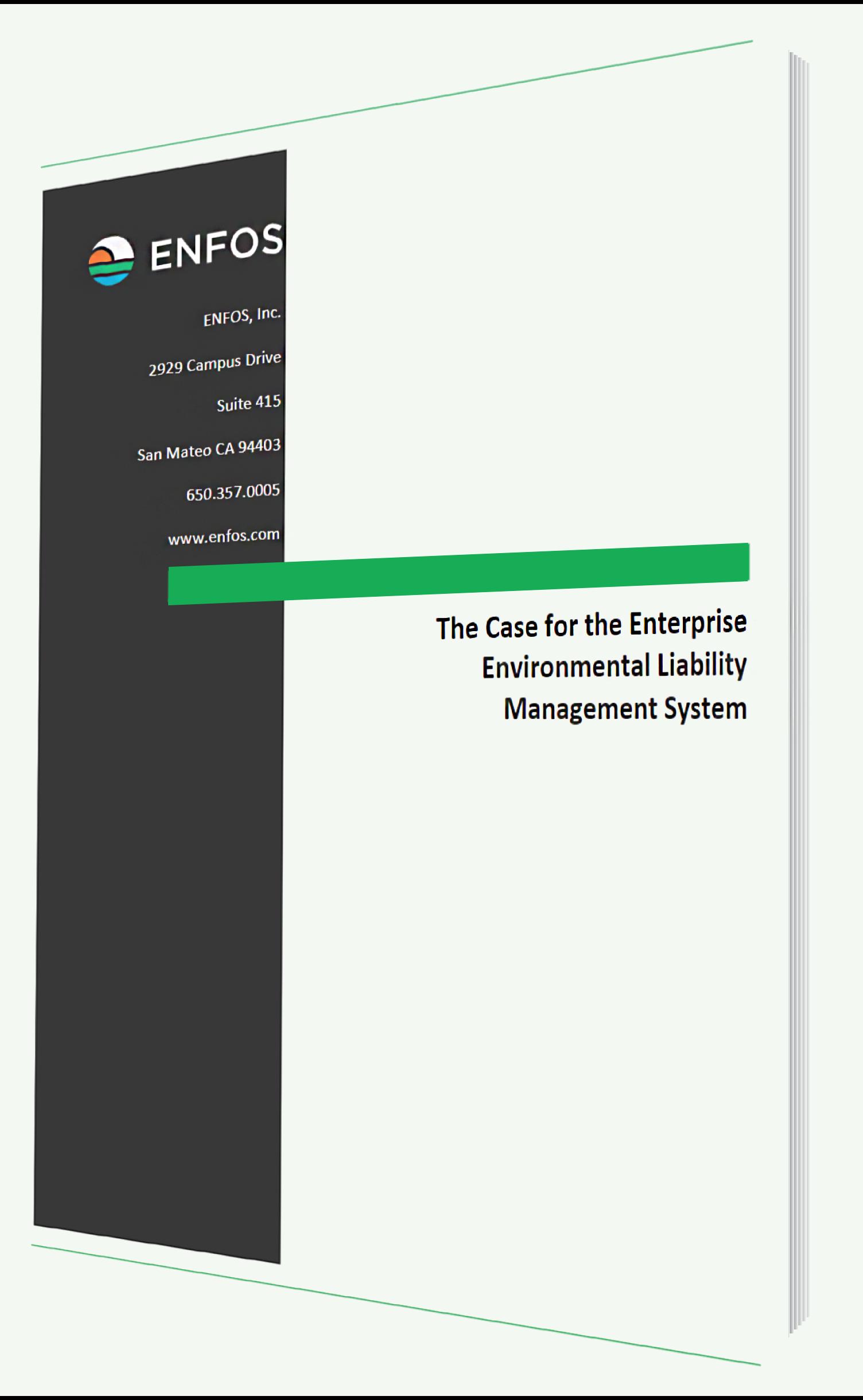 Environmental Liability Management Software E-Book
